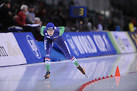 SPEED SKATING: SALT LAKE CITY: 20-11-2015, Utah Olympic Oval, ISU World Cup, 5000m B-Division, Lisa van der Geest (NED), ©foto Martin de Jong