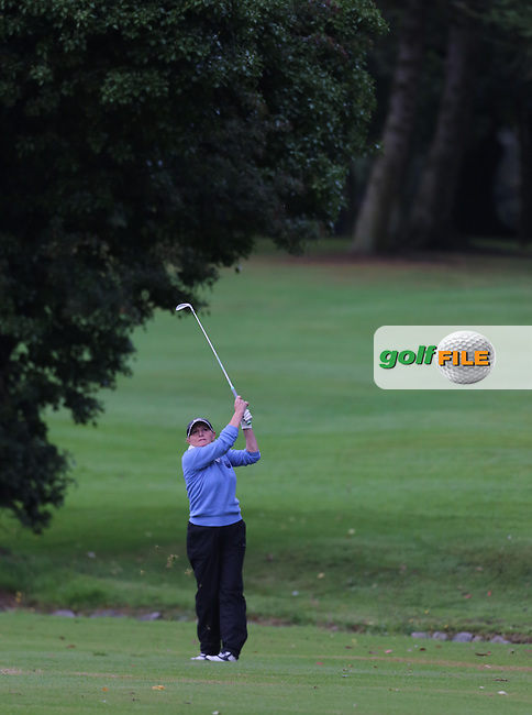 during the Ulster Mixed Foursomes Final, Shandon Park Golf Club, Belfast. 19/08/2016<br /> <br /> Picture Jenny Matthews / Golffile.ie<br /> <br /> All photo usage must carry mandatory copyright credit (&copy; Golffile | Jenny Matthews)