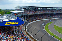 Verizon IndyCar Series<br /> Indianapolis 500 Race<br /> Indianapolis Motor Speedway, Indianapolis, IN USA<br /> Sunday 28 May 2017<br /> Will Power, Team Penske Chevrolet, Alexander Rossi, Andretti Herta Autosport with Curb-Agajanian Honda, Ryan Hunter-Reay, Andretti Autosport Honda, Max Chilton, Chip Ganassi Racing Teams Honda, Fernando Alonso, McLaren-Honda-Andretti Honda<br /> World Copyright: F. Peirce Williams<br /> LAT Images