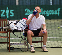Hilversum, The Netherlands, 05.03.2014. NOVK ,National Indoor Veterans Championships of 2014, Martin Koek (NED)<br /> Photo:Tennisimages/Henk Koster