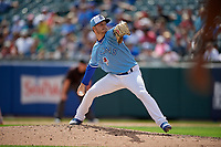 Buffalo Bisons pitcher Ty Tice (44) during an International League game against the Pawtucket Red Sox on August 25, 2019 at Sahlen Field in Buffalo, New York.  Buffalo defeated Pawtucket 5-4 in 11 innings.  (Mike Janes/Four Seam Images)
