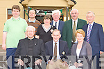 Proud Legion members at the club 80th anniversary celebrations in the Legion clubhouse on Monday evening front row l-r: Fr Liam Brosnan, Tommy, Mary Regan. Back row: Roger McCarthy, Tommy O'Connor, Kathleen, Noel McCarthy, Sean O'Sullivan Chairman and Sean O'Grady