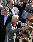 Bill Clinton visits NWA for Democratic Rallies