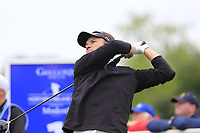 Mark Flindt Haastrup (DEN) tees off the 1st tee during Sunday's Final Round of the Northern Ireland Open 2018 presented by Modest Golf held at Galgorm Castle Golf Club, Ballymena, Northern Ireland. 19th August 2018.<br /> Picture: Eoin Clarke | Golffile<br /> <br /> <br /> All photos usage must carry mandatory copyright credit (&copy; Golffile | Eoin Clarke)