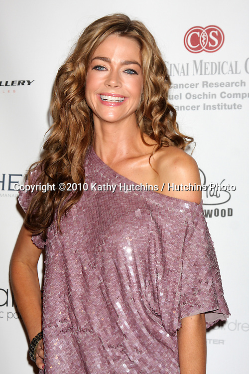 LOS ANGELES - SEP 25:  Denise Richards arrives at the Pink Party 2010 at W Hollywood Hotel on September 25, 2010 in Los Angeles, CA