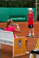 2013-08-17, Netherlands, Raalte,  TV Ramele, Tennis, NRTK 2013, National Ranking Tennis Champ,  Danielle Harmsen during changeover<br /> <br /> Photo: Henk Koster