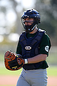December 28, 2009:  Nathaniel Greer (9) of the Baseball Factory Hurricanes team during the Pirate City Baseball Camp & Tournament at Pirate City in Bradenton, Florida.  (Copyright Mike Janes Photography)