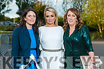 Barbara Liston (Tralee), Samantha Clifford and Eileen Whelan (all Tralee) at the Rose of Tralee fashion show at the dome on Sunday night.