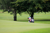 Colin Cunningham (Carton House) on the 2nd during round 1 of The Mullingar Scratch Cup in Mullingar Golf Club on Sunday 3rd August 2014.<br /> Picture:  Thos Caffrey / www.golffile.ie