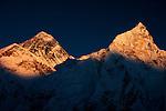 Mount Everest and Nuptse, Nepal