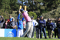 Kevin Streelman (USA) tees off the 6th tee during Sunday's Final Round of the 2018 AT&amp;T Pebble Beach Pro-Am, held on Pebble Beach Golf Course, Monterey,  California, USA. 11th February 2018.<br /> Picture: Eoin Clarke | Golffile<br /> <br /> <br /> All photos usage must carry mandatory copyright credit (&copy; Golffile | Eoin Clarke)