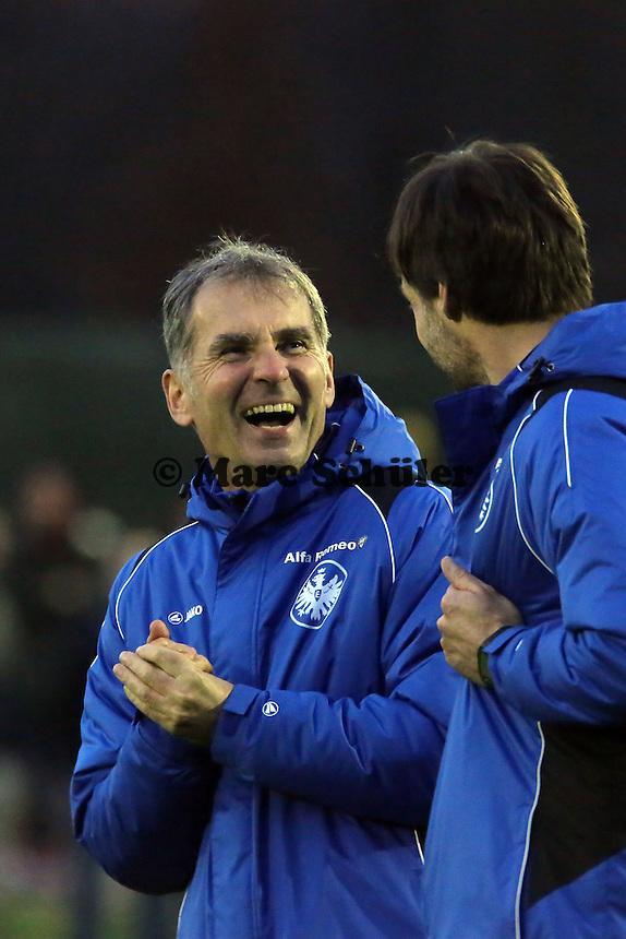 Der neue Konditionstrainer Günther Kern (Eintracht)