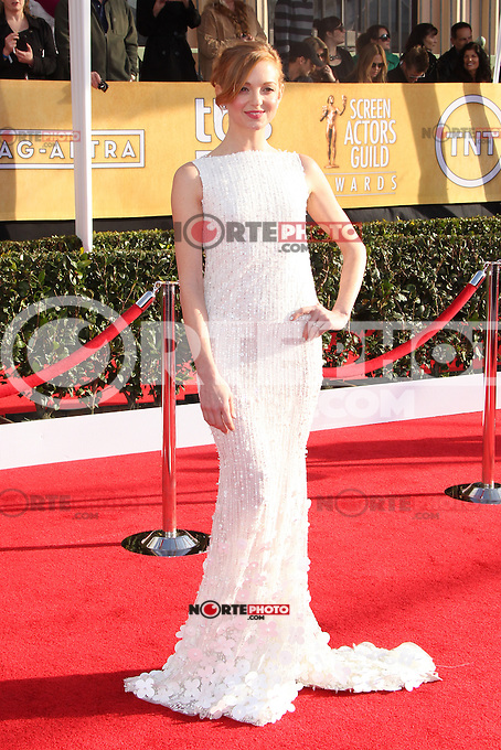 LOS ANGELES, CA - JANUARY 27: Jayma Mays at The 19th Annual Screen Actors Guild Awards at the Los Angeles Shrine Exposition Center in Los Angeles, California. January 27, 2013. Credit: MediaPunch Inc. /NortePhoto