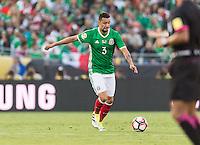 Pasadena, CA - Thursday June 09, 2016: Yasser Corona during a Copa America Centenario Group C match between Mexico (MEX) and Jamaica (JAM) at Rose Bowl Stadium.