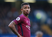 30th September 2017, Stamford Bridge, London, England; EPL Premier League football, Chelsea versus Manchester City; Gabriel Jesus of Manchester City looks on