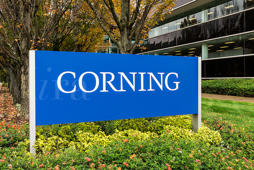 Corning Inc. Headquarters, Steuben County, New York, USA