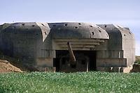 - Normandy, sites of allied landing of June 1944, German coastal gun batteries of Merveille ....- Normandia, i luoghi degli sbarchi alleati del giugno 1944, batterie costiere tedesche di Merveille