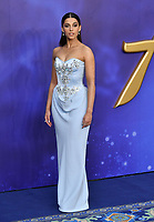 Naomi Scott attends live-action remake of the hit Disney animated film Aladdin on 9th May 2019 in London, England, UK.<br /> <br /> <br /> CAP/JOR<br /> &copy;JOR/Capital Pictures