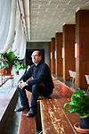 Germany, Berlin, 2018/01/18<br /> <br /> Joachim Seinfeld, artist Photo by Gregor Zielke (Photo by Gregor Zielke)