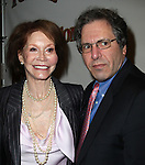 Mary Tyler Moore & husband Dr. Robert Levine.attending the Broadway Opening Night Performance of 'Follies' at the Marquis Theatre in New York City,