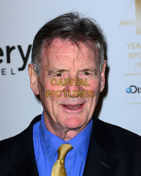 LONDON, ENGLAND - MARCH 28: Michael Palin attend the Broadcasting Press Guild Awards sponsored by The Discovery Channel at Theatre Royal on March 28, 2014 in London, England.<br /> CAP/JOR<br /> &copy;Nils Jorgensen/Capital Pictures