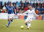 Barrie McKay fires in a shot