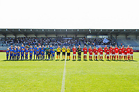 20190422 - Denderleeuw , BELGIUM : Illustration picture during the final of Belgian cup 2019 , a soccer women game between AA Gent Ladies and Standard Femina de Liege  , in the  Van Roystadion in Denderleeuw , Monday 22 th April 2019 . PHOTO SPORTPIX.BE | STIJN AUDOOREN