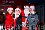 Kate, Gail, Jerry and Gerard McCarthy  at the Christmas in Killarney parade on Saturday evening