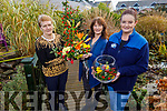 Kathleen Reidy, Sharon Villa and Marisa Reidy launch the Gala Christmas Floral Demonstration fundraiser in Recovery Haven, Tralee on Tuesday. The event will be held in Castleisland on Thursday December 5th in the River Island Hotel