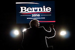 Bernie Sanders in Amherst, MA at the UMASS Mullins Center.  22 February 2016