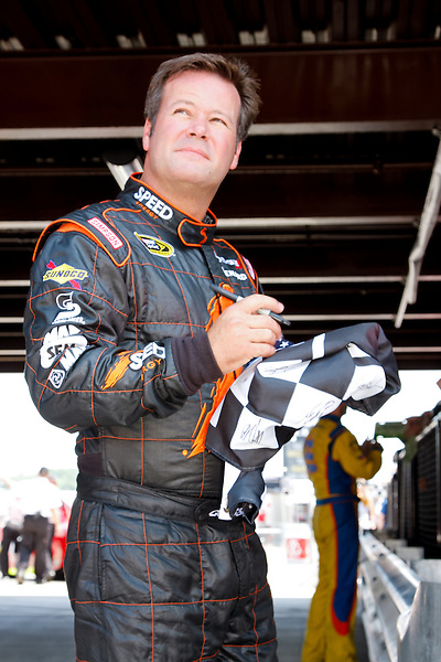 19 June, 2011: Robby Gordon signs for the fans prior to qualifying for the 43rd Annual Heluva Good! Sour Cream Dips 400 at Michigan International Speedway in Brooklyn, Michigan. (Photo by Jeff Speer :: SpeerPhoto.com)