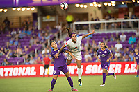 Orlando, FL - Saturday July 15, 2017: Camila, Sydney Leroux  during a regular season National Women's Soccer League (NWSL) match between the Orlando Pride and FC Kansas City at Orlando City Stadium.