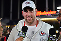 MIAMI, FL - JANUARY 27: Kansas City Chiefs Tight End Blake Bell (#81) answers questions from the media during the NFL Super Bowl ( LIV)(54) Opening Night at Marlins Park on January 27, 2020  in Miami, Florida. ( Photo by Johnny Louis / jlnphotography.com )