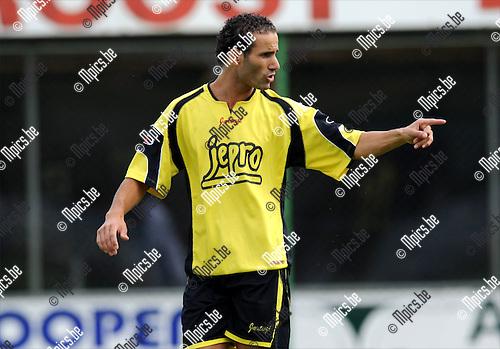 2011-07-31 / Voetbal / seizoen 2011-2012 / KFC Lille / Hicham El Addouly..Foto: mpics