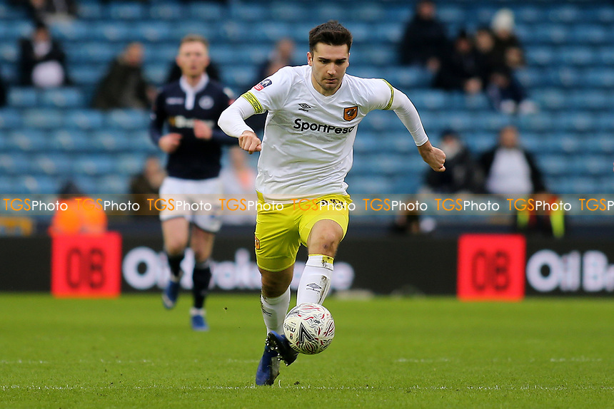 Jan Toral of Hull City in action during Millwall vs Hull City, Emirates FA Cup Football at The Den on 6th January 2019