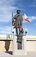 General George S Patton Statue