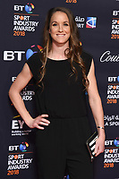 Lizzie Deignan arriving for the BT Sport Industry Awards 2018 at the Battersea Evolution, London, UK. <br /> 26 April  2018<br /> Picture: Steve Vas/Featureflash/SilverHub 0208 004 5359 sales@silverhubmedia.com