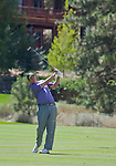 August 5, 2012: J.J. Henry swings on the 5th fairway during the final round of the 2012 Reno-Tahoe Open Golf Tournament at Montreux Golf & Country Club in Reno, Nevada.