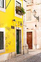Street view. Lisbon, Portugal