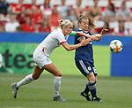 09.06.2019 England v Scotland Women: Alex Greenwood and Christie Murray