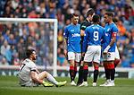 28.04.2019 Rangers v Aberdeen: Connor McLennan injured