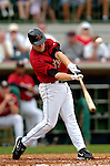 10 March 2006: Eric Bruntlett, infielder for the Houston Astros, at bat during a Spring Training game against the Washington Nationals. The Astros defeated the Nationals 8-6 at Osceola County Stadium, in Kissimmee, Florida...Mandatory Photo Credit: Ed Wolfstein..