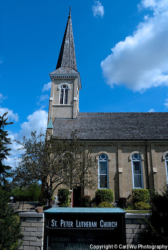 Old St. Peter Luthern Church in Schaumburg