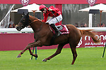 October 5, 2019, Paris (France) - The Revenant (1) with Pierre-Charles Boudot up wins the Qatar Prix Daniel Wildenstein (Gr II) on October 5 at ParisLongchamp Race Course. [Copyright (c) Sandra Scherning/Eclipse Sportswire)]