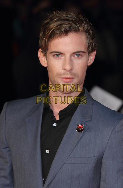 LONDON, ENGLAND - NOVEMBER 25: Luke Treadaway attends the UK Premiere of 'Unbroken' at Odeon Leicester Square on November 25, 2014 in London, England<br /> CAP/ROS<br /> &copy;Steve Ross/Capital Pictures