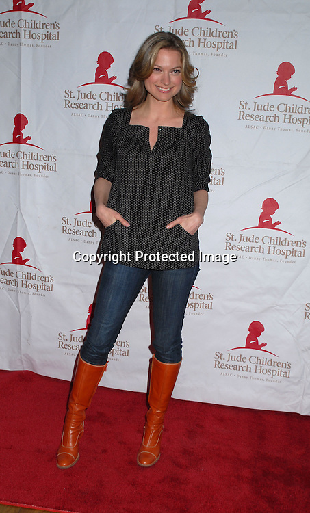 "Nicole Forester of Guiding Light..arriving at The St Jude Children's Research Hospital's Design Cares "" An Evening of Enchantment"" Fashion Show on February 7, 2007 at The Puck Building in New York...Robin Platzer, Twin Images"