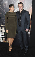www.acepixs.com<br /> <br /> February 15 2017, LA<br /> <br /> Actor Matt Damon and wife Luciana Barroso arriving at the premiere of 'The Great Wall' at the TCL Chinese Theatre on February 15, 2017 in Hollywood, California. <br /> <br /> By Line: Peter West/ACE Pictures<br /> <br /> <br /> ACE Pictures Inc<br /> Tel: 6467670430<br /> Email: info@acepixs.com<br /> www.acepixs.com