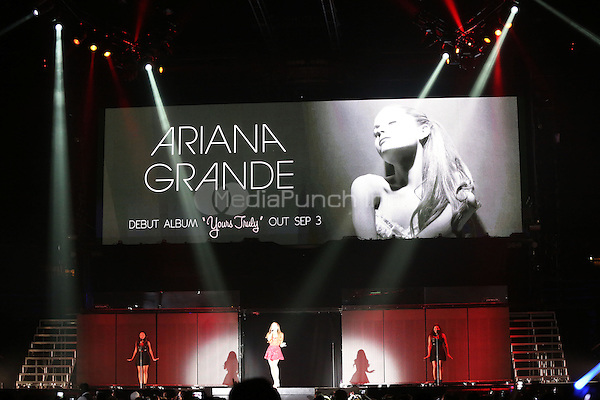 ATLANTA, GA- August 10: Ariana Grande performing as part of The Believe Tour on August 10, 2013 at Philips arena in Atlanta. Credit: Cohen/ RTN/MediaPunch Inc.