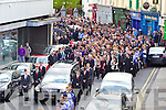 Donal Walsh's funeral at Saint Johns Church, Tralee on Wednesday.