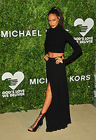 NEW YORK, NY - OCTOBER 17: Joan Smalls at the God's Love We Deliver Golden Heart Awards on October 17, 2016 in New York City. Credit: John Palmer/MediaPunch